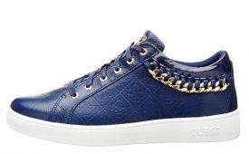 guess-dames-sneaker-leer-blauw