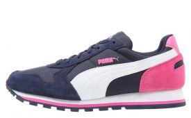 puma-dames-sneaker-kunststof-textiel-leer-roze-wit-blauw